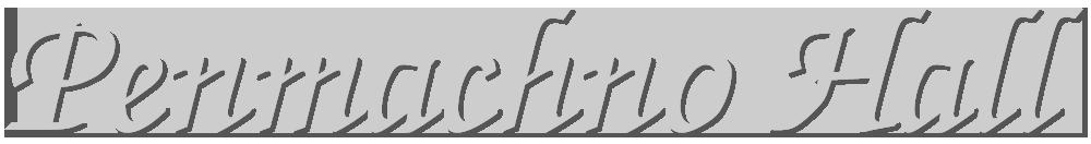 Penmachno Hall logo